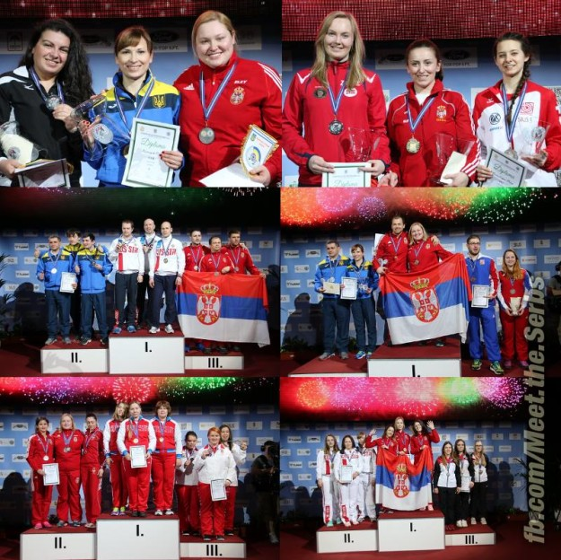Medals for Serbia